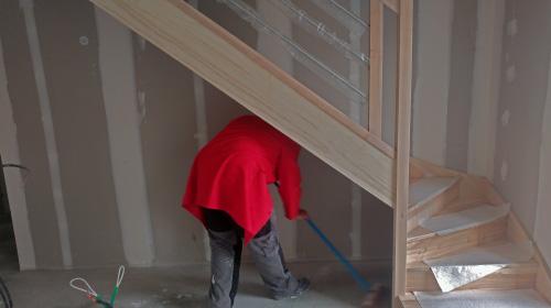 Un jour chez vous - 13h : Nettoyage du chantier